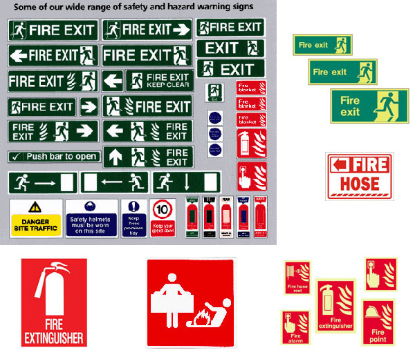 Fire Safety Signs Tire Polish Liquid Car Seat Cover