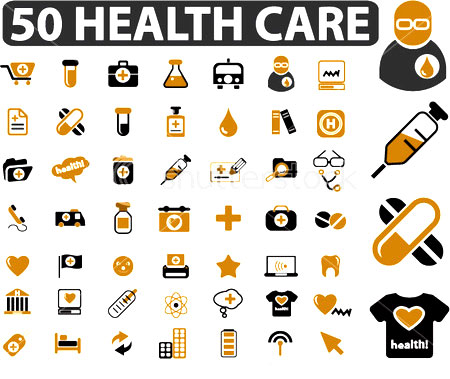 Health Care Signs Two Wheeler Vehicle Graphic Two